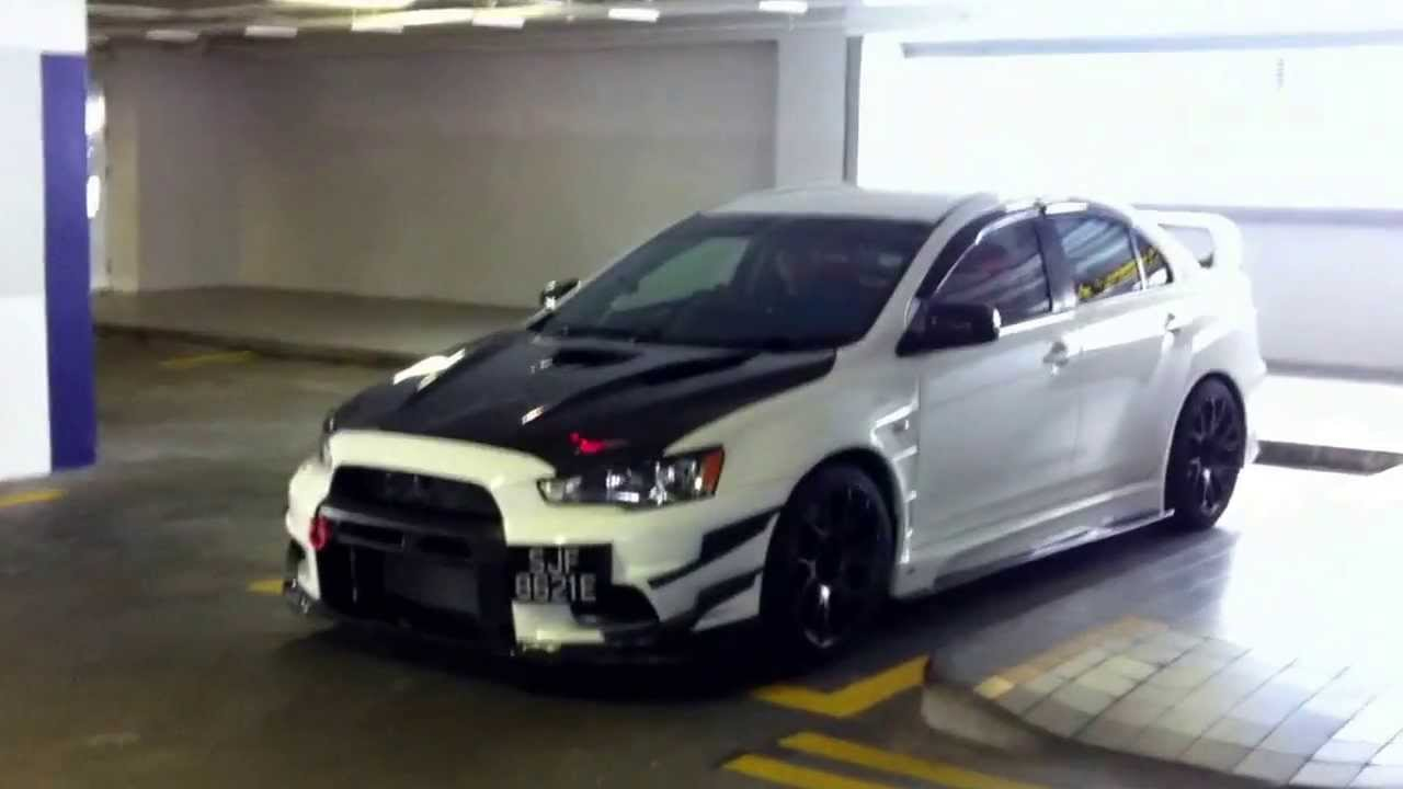 Evo X RS With 491HP 681Nm Torque HKS SSQV IV BOV Sound & Walk Around.