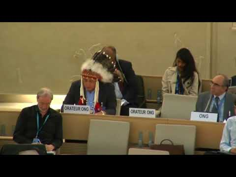 Standing Rock Sioux Chairman takes NODAPL to the United Nations