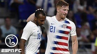 USMNT denied shock win vs. France by late Kylian Mbappe goal | ESPN FC