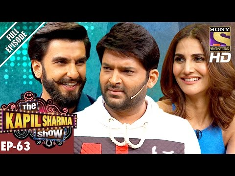 The Kapil Sharma Show - दी कपिल शर्मा शो-Ep-63-Ranveer and Vaani In Kapil's Show–27th Nov 2016