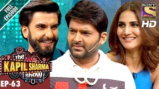 The Kapil Sharma Show - दी कपिल शर्मा शो-Ep-63-Ranveer and Vaani In Kapil