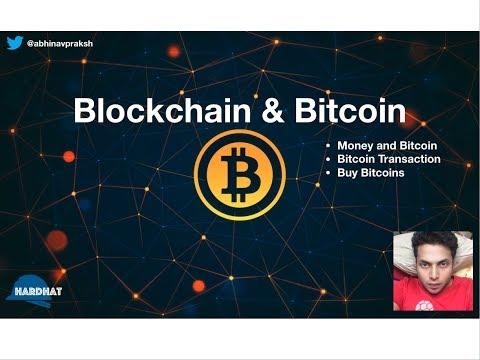 Blockchain and Bitcoin - Money, Transactions and Crypto