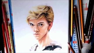 【Drawing】Newt - Maze runner (Thomas Brodie Sangster)