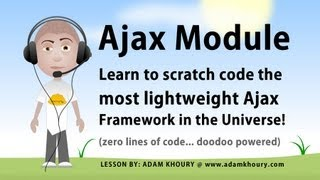 Ajax Framework Tutorial JavaScript Module Programming PHP Script Included