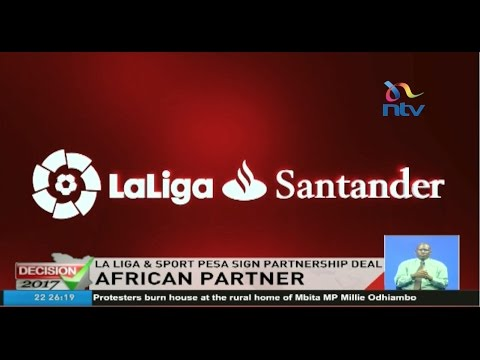 SportPesa becomes the Official African Betting Partner of La Liga