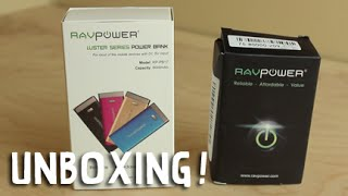 Unboxing: RAVPower Luster 6000mAh Battery & Dual USB Car Charger