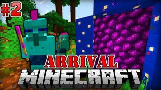 Mysteriöse PORTALE - Minecraft Arrival #002 [Deutsch/HD]