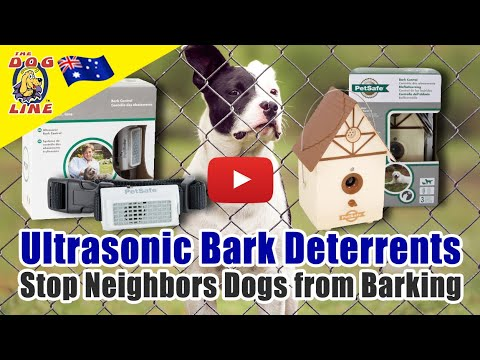 Ultrasonic Bark Deterrent - Stop Neighbors Dogs from Barking