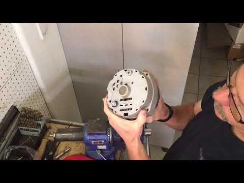 One Wire Alternator Conversion
