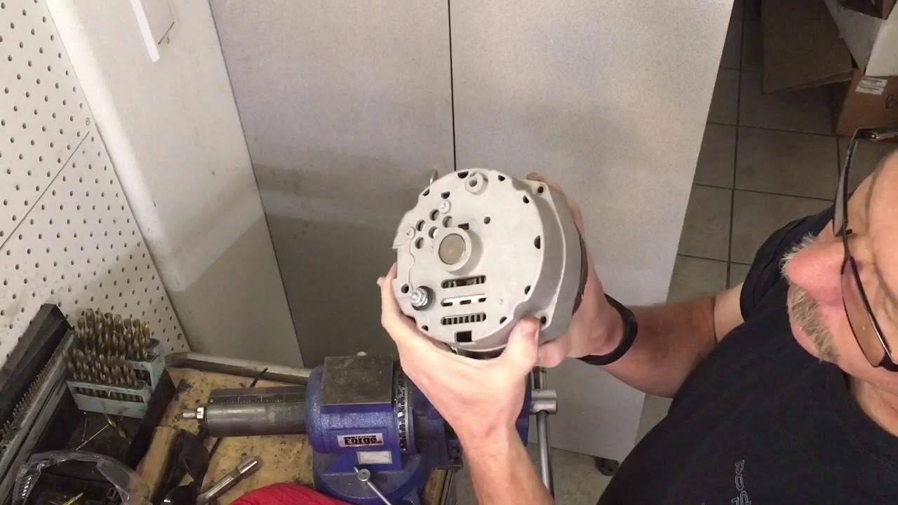 medium resolution of one wire alternator conversion