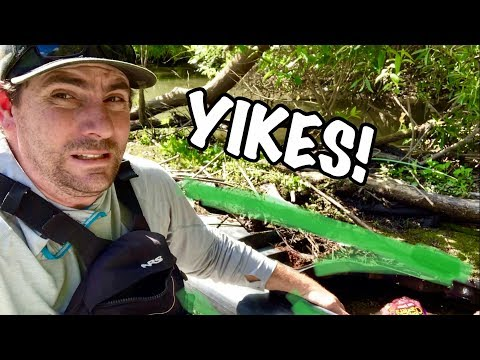 Was Not Expecting This! (Abandon Kayaks/ Cosumnes River Misadventure)