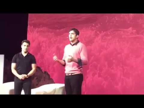 Ashton Kutcher Shuts Down BDS Anti-Israel Protester Ariel Gold at Airbnb Event