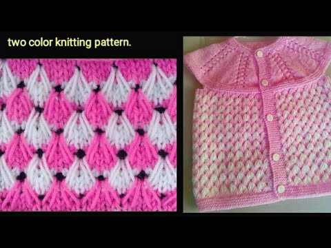 8a0a66cf29ef9 Simple easy and beautiful sweater design in hindi   knitting pattern ...