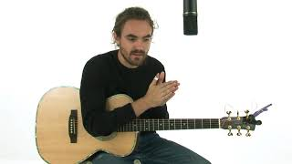 Songwriting Guitar Lesson - Thumb Picking: Demonstration - Blair Dunlop