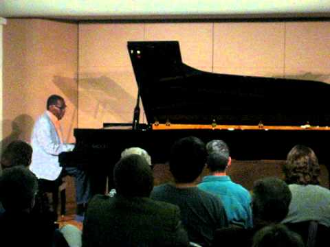 "George Cables, solo on the Fazioli concert grand piano ""You Stepped Out of a Dream"""
