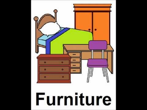 Learn English - Lesson #15: Furniture - singular and plural, pronunciation