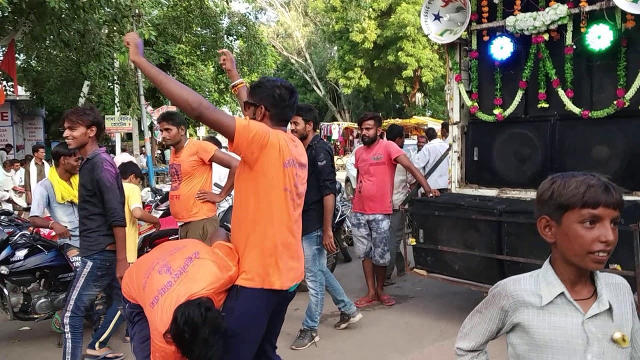 कावड़ यात्रा शंकर भगवान खजुराहो मैं समापन हुई है