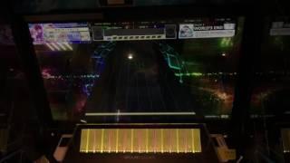 【CHUNITHM AJ】DETARAME ROCK&ROLL THEORY world's end AJしてみた 手元