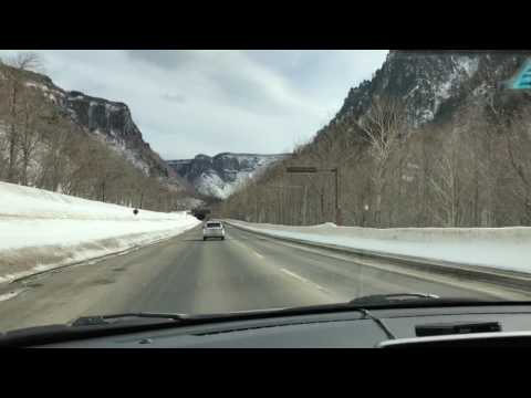 Hokkaido Self Drive Winter Scenery with Power Station (Dong Li Huo Che) Song