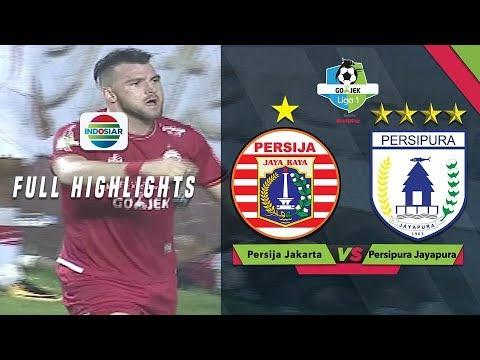 Persija Jakarta (2) vs Persipura Jayapura (0) - Full Highlight | Gojek Liga 1 bersama Bukalapak