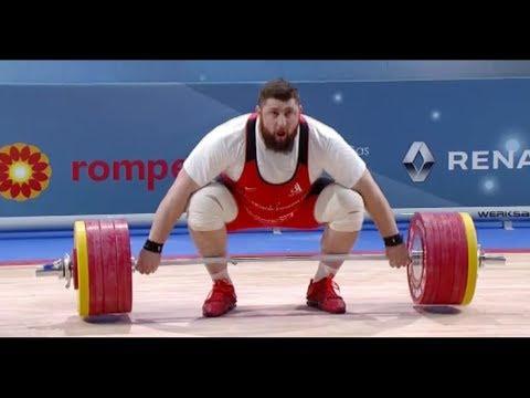 Lasha Talakhadze | 2018 European Weightlifting Championships | European Champion