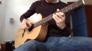 L'amour Toujours - Gigi D'Agostino guitar cover (with loop pedal)