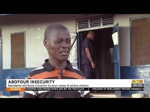 Abofour Insecurity: Residents attribute situation to poor state of police station- Adom TV (15-7-21)