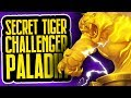 Secret Tiger Challenger Paladin   Part Two   Rise of Shadows   Hearthstone
