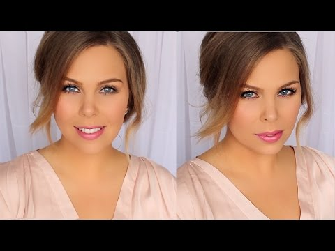 quick,-easy-&-affordable-work-makeup-&-hair-tutorial