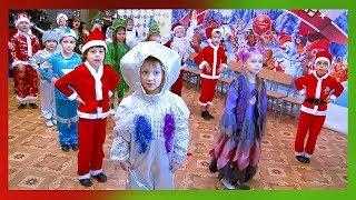Новогодний утренник С Новым годом, супер детский сад! г.Павлодар