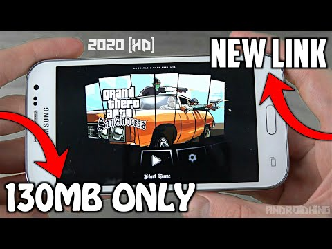 [130MB] GTA San Andreas Game For Android | Apk + Data | Cleo MODs | All GPU | Support All Devices