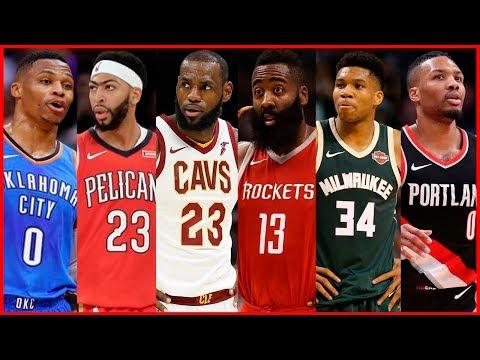 NBA Top 10 Players 2017 - 2018 Season