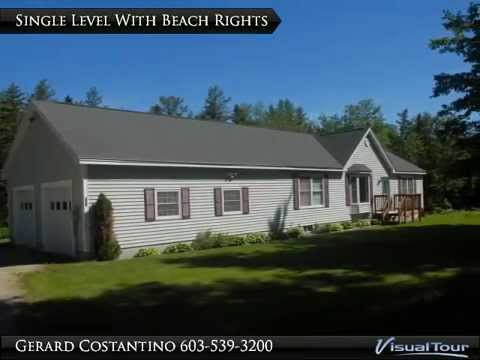 Lovely Ranch With Deeded Beach Rights To Ossipee Lake Youtube