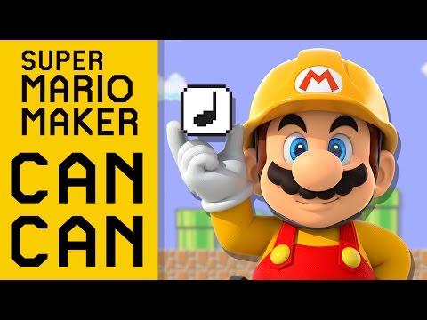 Super Mario Maker Can Can [YTPMV]