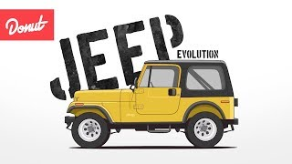 Evolution of the Jeep 4x4 Utility Vehicle | Donut Media