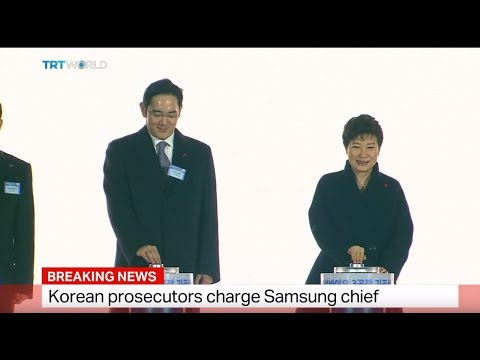 Breaking News: Korean prosecutors charge Samsung chief