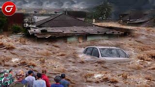 Banjir Bandang Sapu Gorontalo Hari ini, Semua  Pemukiman Terendam