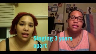 Video 3 YEAR difference singing comparison, FTM download MP3, 3GP, MP4, WEBM, AVI, FLV Desember 2017