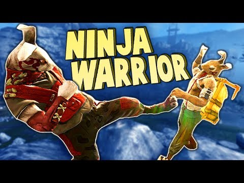 Stealthy NINJA Warrior Rabbit vs ARMY!  (Overgrowth New Upda