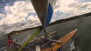 Paper Tiger racing in the Twofold Bay Regatta