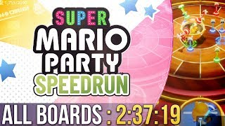 Super Mario Party All Boards Speedrun in 2:37:19 (Normal)
