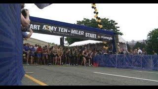 MEDCOM Runs in the 2018 US Army Ten Miler