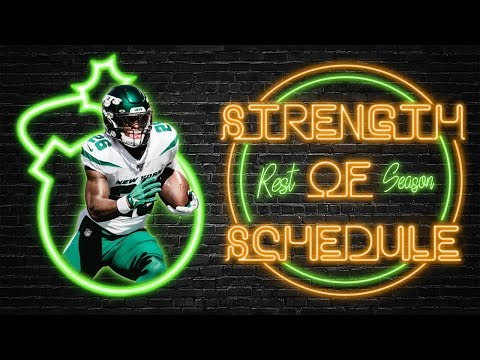 2019 Fantasy Football - Running Back Rest Of Season Strength Of Schedule