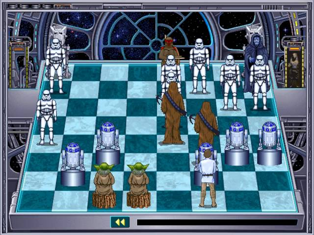 Star Wars Chess (The Software Toolworks) (Windows 3.x) [1993]