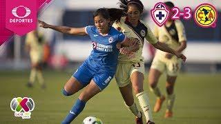 América da la vuelta | Cruz Azul 2 - 3 América | Liga MX Femenil - J3 | Televisa Deportes