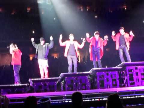 New Kids On The Block Main Event San Jose Ca  ---STEP BY STEP