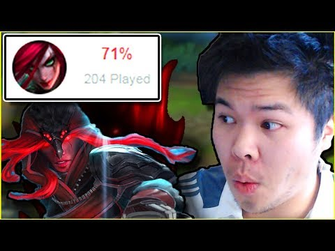THE SCARIEST CHALLENGER KATARINA I'VE EVER FACED.. - Challenger to RANK 1