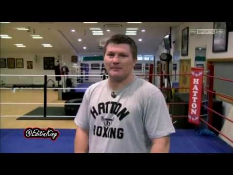 Ricky Hatton body shots