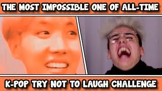 THE ULTIMATE KPOP TRY NOT TO LAUGH CHALLENGE #2 [NOT POSSIBLE] - Stafaband