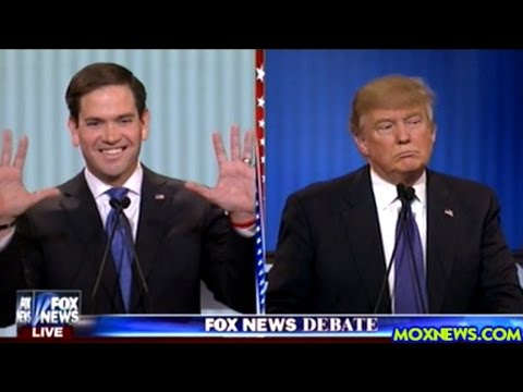 DONALD TRUMP vs EVERYBODY ELSE Republican Debate In Detroit Michigan Pt.1